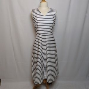 Kate Spade Striped Navy & White Dress